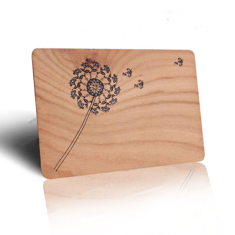 Customized engraved veneered rfid wood business card shanghai wooden colour printed rfid business cards 1 reheart Images