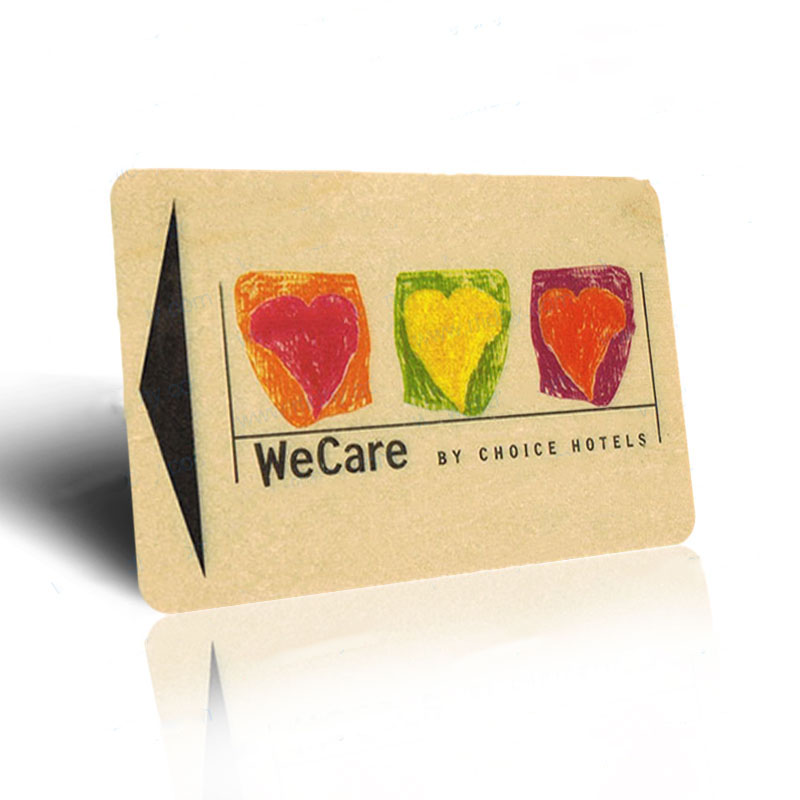 Customized and colour printed Wooden for rfid business cards ...