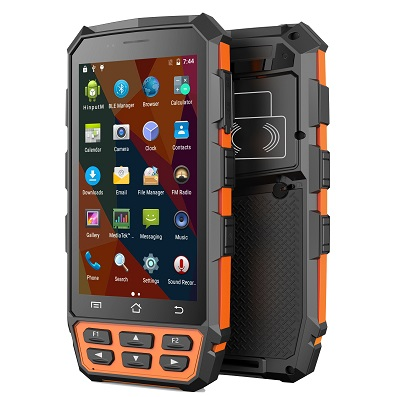 ZYHR5000 Handle, Hand-held, Handset Reader - rugged IP 65 Android 5.1 4G PDA