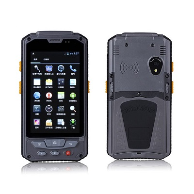 ZYHR901 Handle, Hand-held, Handset Reader - rugged IP 65 Android 4.4.2 PDA